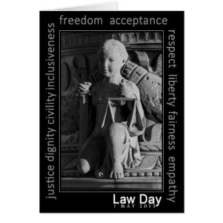 Celebrate National Law Day Greeting Card