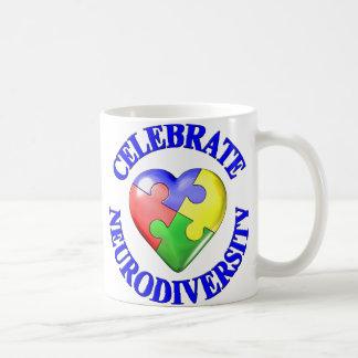 Celebrate Neurodiversity Classic White Coffee Mug