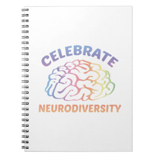 Celebrate Neurodiversity Spiral Note Book