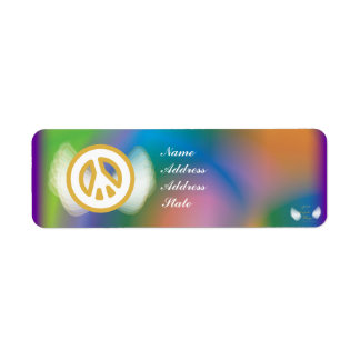 Celebrate New Year Mail Address Label-Customize Label