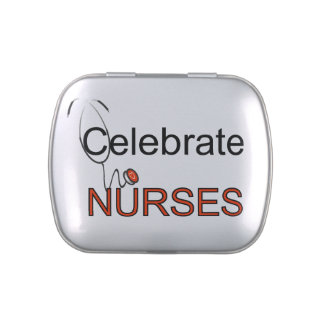 Celebrate Nurses Candy Tins and Jars