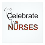 Celebrate Nurses T-shirts and Gifts Invitation