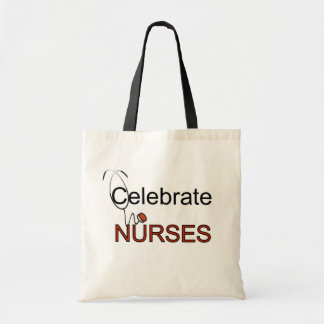 Celebrate Nurses T-shirts and Gifts Tote Bag