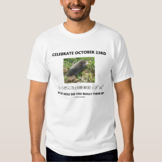 Celebrate October 23rd Mole Day (Chemistry Humor) Dresses
