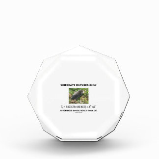 Celebrate October 23rd Which Mole Really Think Of? Award