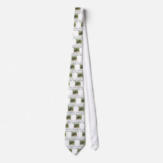 Celebrate October 23rd Which Mole Really Think Of? Neck Tie