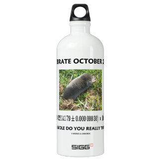 Celebrate October 23rd Which Mole Really Think Of? SIGG Traveler 1.0L Water Bottle