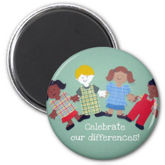 Celebrate Our Differences! Magnet
