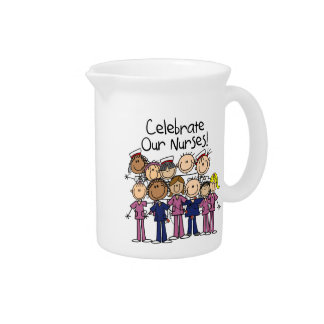 Celebrate Our Nurses Drink Pitchers