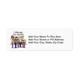 Celebrate Our Nurses Label
