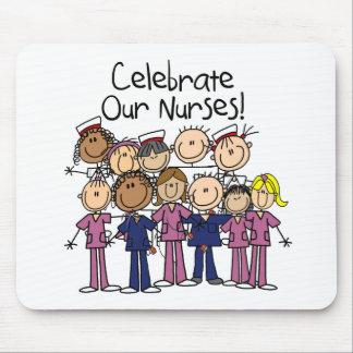 Celebrate Our Nurses Mouse Pad