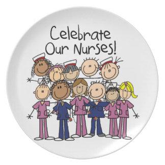 Celebrate Our Nurses Plate
