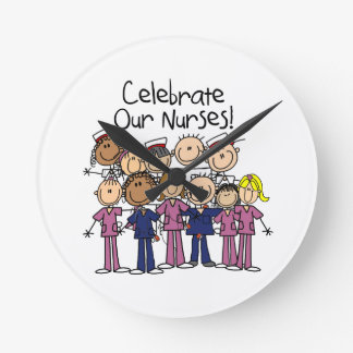Celebrate Our Nurses Round Clock