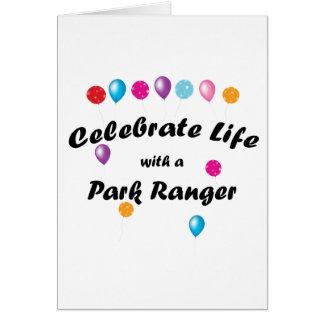 Celebrate Park Ranger Stationery Note Card