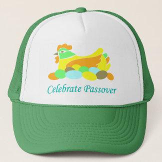 Celebrate Passover Chicken Trucker Hat