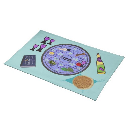 Celebrate Passover Place Mat