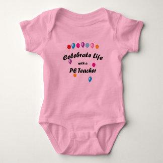 Celebrate PE Teacher Baby Bodysuit
