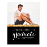 CELEBRATE PHOTO GRADUATION PARTY INVITATION POST CARDS