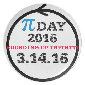 Celebrate Pi Day Plate