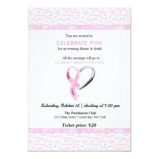 Celebrate Pink event Custom Announcement