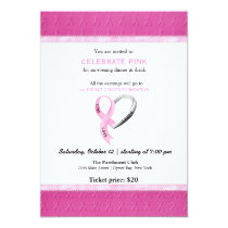 Celebrate Pink event Invitation