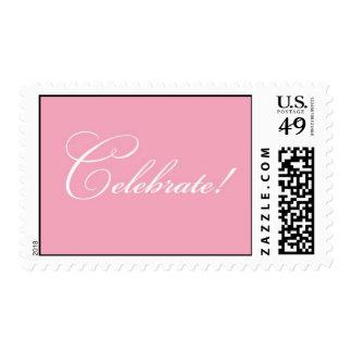 Celebrate - Pink Postage
