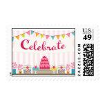 Celebrate Postage Stamp