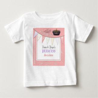 Celebrate Royally Nana n Papa Princess Birthday Baby T-Shirt