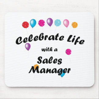 Celebrate Sales Manager Mouse Pad