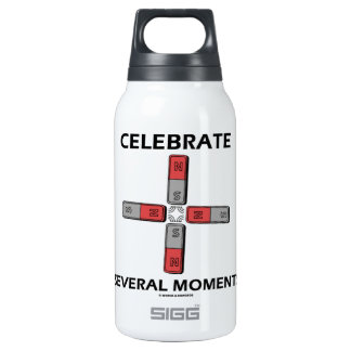 Celebrate Several Moments (Quadrupole Moment) Thermos Water Bottle