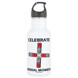 Celebrate Several Moments (Quadrupole Moment) Water Bottle