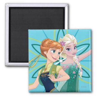 Celebrate Sisterhood 2 Inch Square Magnet