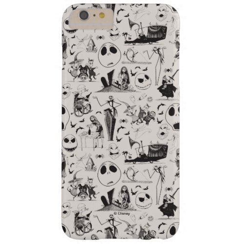 Celebrate Spooky _ Pattern Barely There iPhone 6 Plus Case