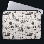 """Celebrate Spooky - Pattern Computer Sleeve<br><div class=""""desc"""">Celebrate Disney Halloween and Christmas with these fun graphics from Tim Burton&#39;s The Nightmare Before Christmas. Show off your love for all your favorite classic characters, Jack Skellington, Sally, Zero, Oogie Boogie, or Oogie&#39;s Boys Lock, Shock &amp; Barrel. Whether you prefer Halloween Town or Christmas Town, there is something for...</div>"""