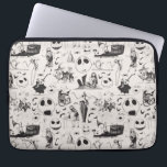 "Celebrate Spooky - Pattern Computer Sleeve<br><div class=""desc"">Celebrate Disney Halloween and Christmas with these fun graphics from Tim Burton&#39;s The Nightmare Before Christmas. Show off your love for all your favorite classic characters, Jack Skellington, Sally, Zero, Oogie Boogie, or Oogie&#39;s Boys Lock, Shock &amp; Barrel. Whether you prefer Halloween Town or Christmas Town, there is something for...</div>"