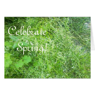 Celebrate Spring Equinox Ostara Easter Greeting Card