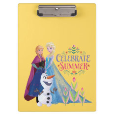 Celebrate Summer Clipboards at Zazzle