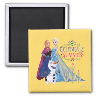 Celebrate Summer Fridge Magnet