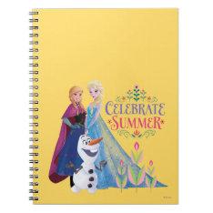 Celebrate Summer Notebook at Zazzle
