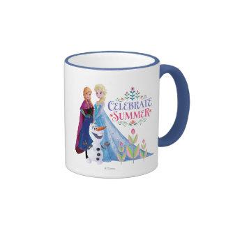 Celebrate Summer Ringer Coffee Mug