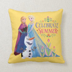 Celebrate Summer Throw Pillows at Zazzle