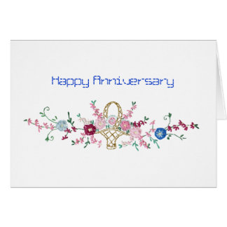 Celebrate,Survive, Love Anniversary Card