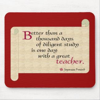 Celebrate teachers mouse pad