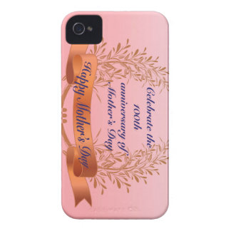 Celebrate the 100th anniversary-of Mother's Day Gi iPhone 4 Case-Mate Case