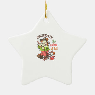 CELEBRATE THE COLORS OF FALL CHRISTMAS ORNAMENT