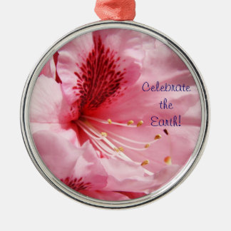 Celebrate the Earth! hanging ornaments Pink Rhodie