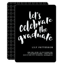 Celebrate the Graduate Graduation Party Invitation