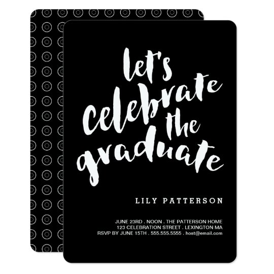 Celebrate the graduate graduation party invitation zazzle celebrate the graduate graduation party invitation filmwisefo Gallery