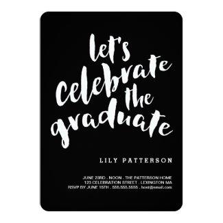 Celebrate the Graduate Graduation Party Invitation
