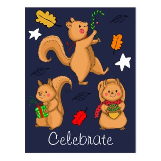 Celebrate the Holidays Squirrel